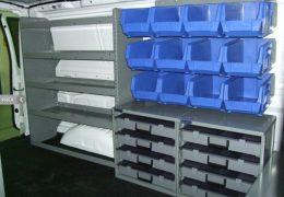 Adrian Steel cargo van bins and shelving