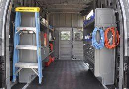 Adrian Steel interior upfit for Nissan