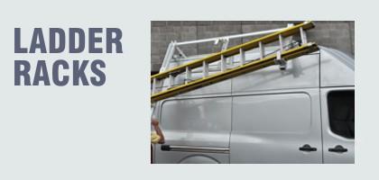 ladder racks for work vehicles